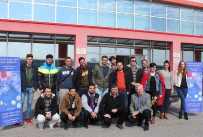 ERASMUS+ PROGRAM: Posjet učenika iz Seville Industrijskom parku
