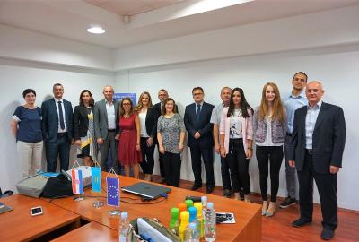 World bank representantives in Slavonija